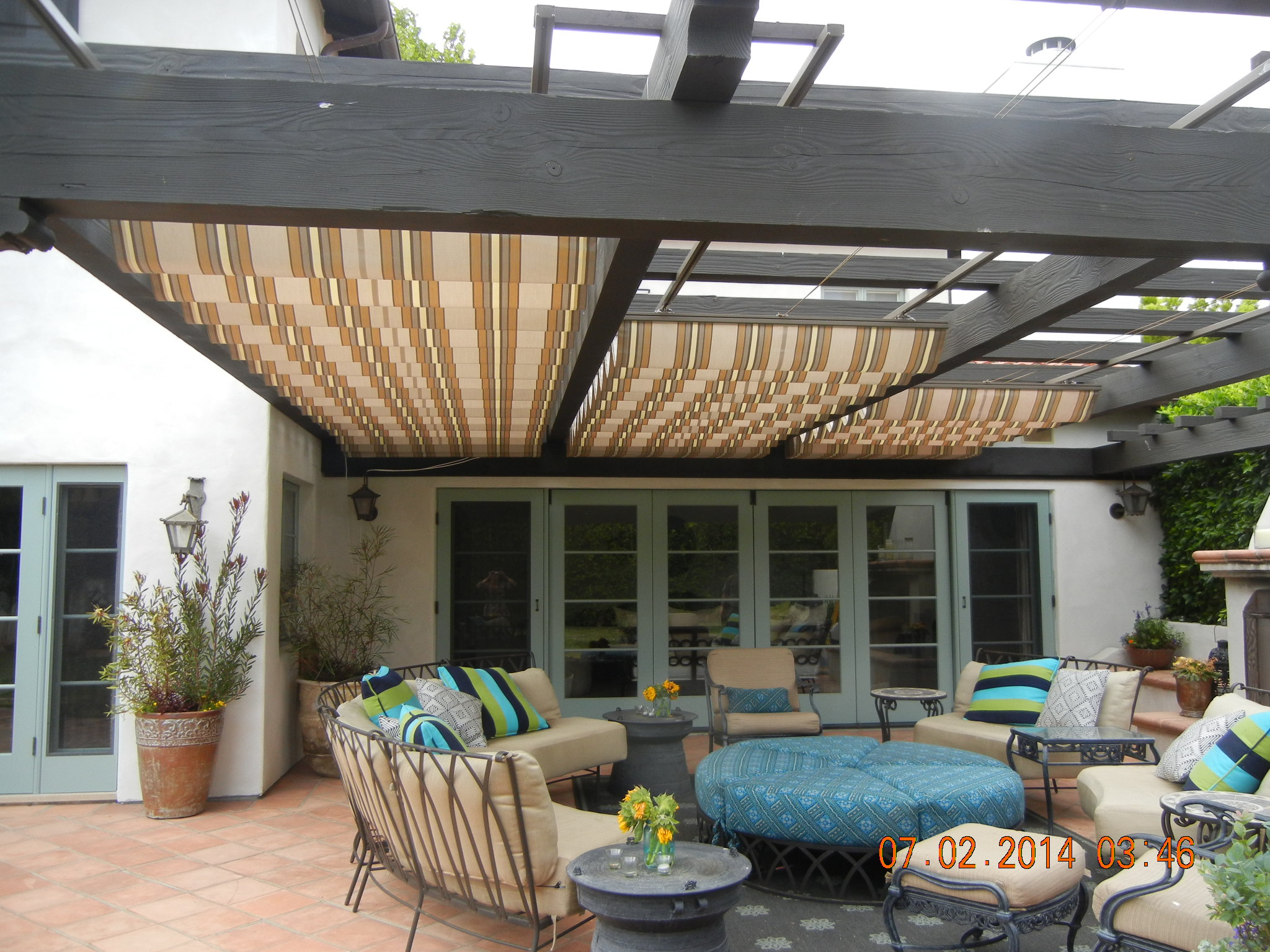 F - Retractable Roof/Pergola Canopy